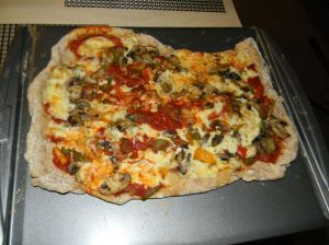 Vegetable Pizza.