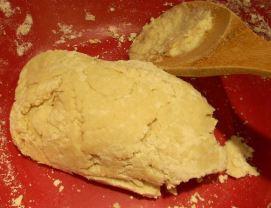 Shortcake dough.
