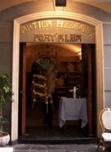 The first pizzeria was founded in Naples in 1830, and it's known as Antica Pizzeria Port'Alba.