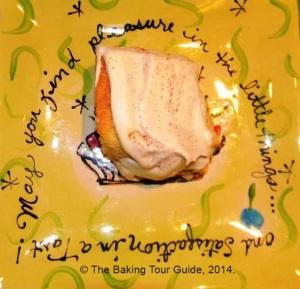 Tres Leches Cake Piece