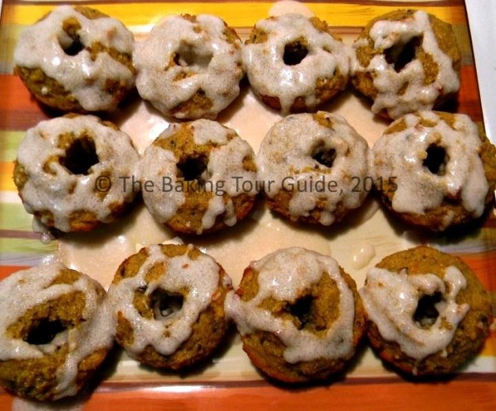 Sugar-Free Vanilla Lavender Doughnuts 2/14/15