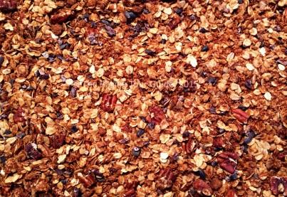 Baked Coconut Pecan Oat Granola