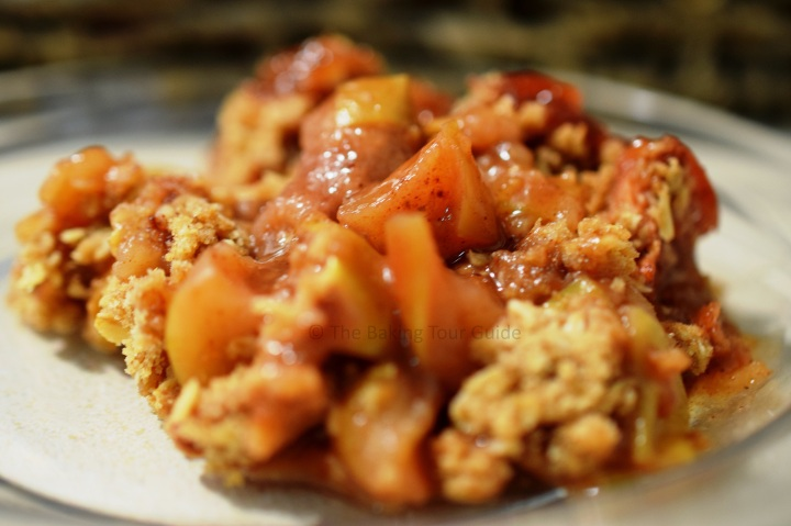 Maple Bourbon Apple Crisp 10-17-2015