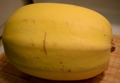 Spaghetti Squash 1 © The Baking Tour Guide