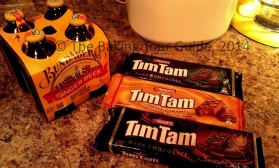 Ginger Beer and Tim Tams