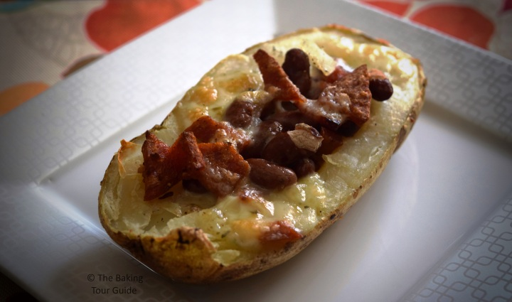 Loaded Potatoes 1 © The Baking Tour Guide