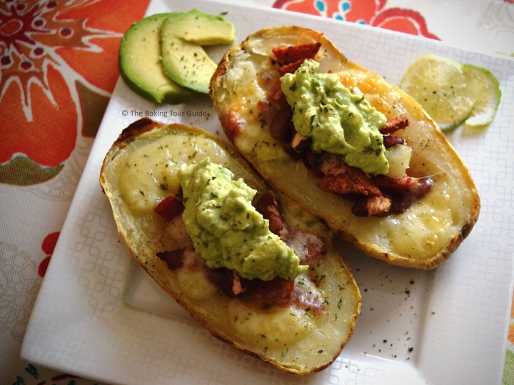 Loaded Potatoes 4 © The Baking Tour Guide