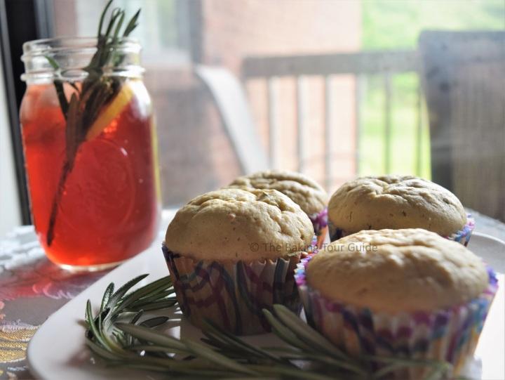 Pomegranate Ginn Fizz 2 © The Baking Tour Guide